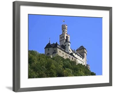Castle Marksburg, Braubach, Germany-Miva Stock-Framed Photographic Print