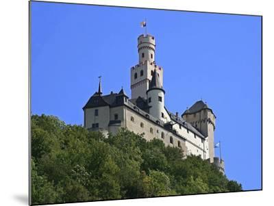 Castle Marksburg, Braubach, Germany-Miva Stock-Mounted Photographic Print
