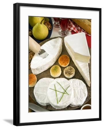 French Cheeses, France-Nico Tondini-Framed Photographic Print