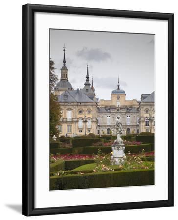 Royal Palace of King Philip V, San Ildefonso, Spain-Walter Bibikow-Framed Photographic Print