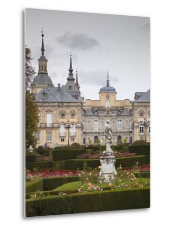 Royal Palace of King Philip V, San Ildefonso, Spain-Walter Bibikow-Metal Print