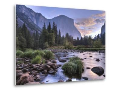 Early Sunrise, Yosemite, California, USA-Tom Norring-Metal Print