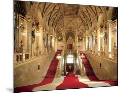 Parliament Building, Budapest, Hungary-Miva Stock-Mounted Photographic Print