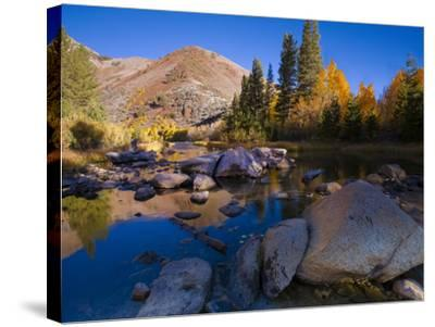 Sunrise at North Lake, Eastern Sierra Foothills, California, USA-Tom Norring-Stretched Canvas Print