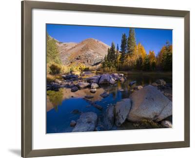 Sunrise at North Lake, Eastern Sierra Foothills, California, USA-Tom Norring-Framed Photographic Print