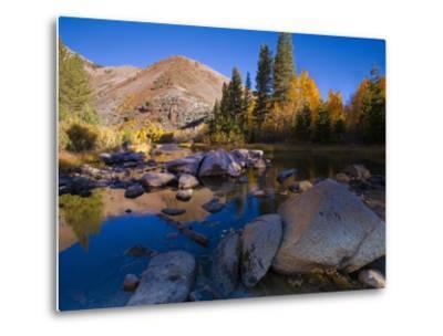 Sunrise at North Lake, Eastern Sierra Foothills, California, USA-Tom Norring-Metal Print