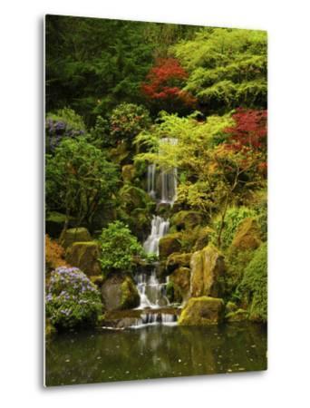 Spring, Portland Japanese Garden, Portland, Oregon, USA-Michel Hersen-Metal Print