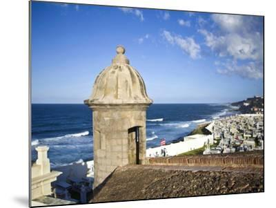 Cemetary, Fort San Felipe Del Morro, San Juan, Puerto Rico, USA, Caribbean-Miva Stock-Mounted Photographic Print