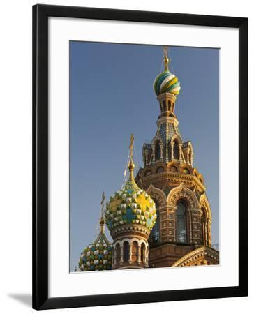 Church of the Saviour of Spilled Blood, Saint Petersburg, Russia-Walter Bibikow-Framed Photographic Print
