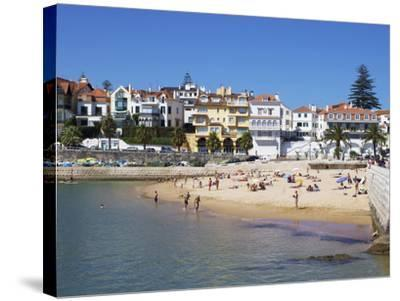 Fishermans Beach, Cascais, Portugal, Europe-Jeremy Lightfoot-Stretched Canvas Print