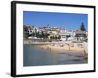 Fishermans Beach, Cascais, Portugal, Europe-Jeremy Lightfoot-Framed Photographic Print