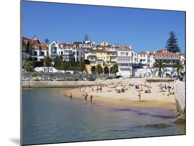 Fishermans Beach, Cascais, Portugal, Europe-Jeremy Lightfoot-Mounted Photographic Print