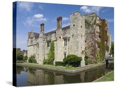 Hever Castle, Dating from the 13th Century, Childhood Home of Anne Boleyn, Kent, England, UK-James Emmerson-Stretched Canvas Print