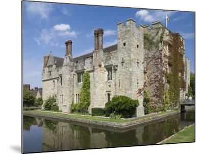 Hever Castle, Dating from the 13th Century, Childhood Home of Anne Boleyn, Kent, England, UK-James Emmerson-Mounted Photographic Print