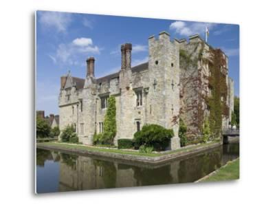 Hever Castle, Dating from the 13th Century, Childhood Home of Anne Boleyn, Kent, England, UK-James Emmerson-Metal Print