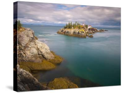 East Quoddy (Head Harbour) Lighthouse, Campobello Island, New Brunswick, Canada, North America-Alan Copson-Stretched Canvas Print