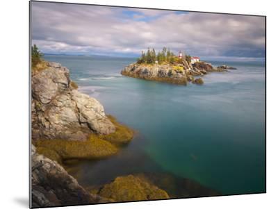 East Quoddy (Head Harbour) Lighthouse, Campobello Island, New Brunswick, Canada, North America-Alan Copson-Mounted Photographic Print