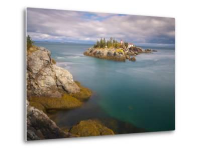 East Quoddy (Head Harbour) Lighthouse, Campobello Island, New Brunswick, Canada, North America-Alan Copson-Metal Print