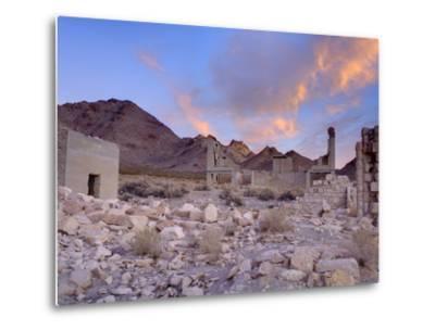 Rhyolite Ghost Town, Beatty, Nevada, United States of America, North America-Richard Cummins-Metal Print