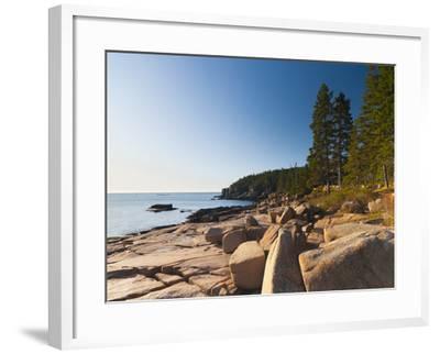 Acadia National Park, Mount Desert Island, Maine, New England, USA, North America-Alan Copson-Framed Photographic Print