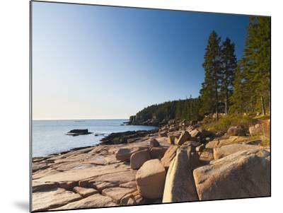 Acadia National Park, Mount Desert Island, Maine, New England, USA, North America-Alan Copson-Mounted Photographic Print