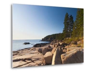 Acadia National Park, Mount Desert Island, Maine, New England, USA, North America-Alan Copson-Metal Print