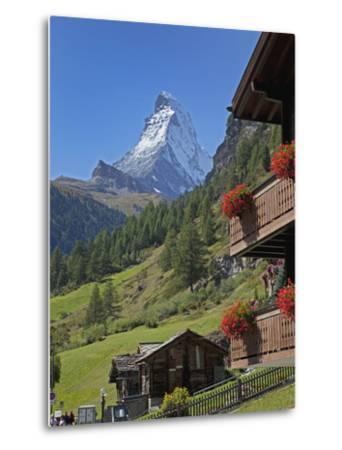 Matterhorn, Zermatt, Canton Valais, Swiss Alps, Switzerland, Europe-Angelo Cavalli-Metal Print