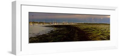 The Old Road, Emsworth, Chichester Harbour, West Sussex, England, United Kingdom, Europe-Giles Bracher-Framed Photographic Print