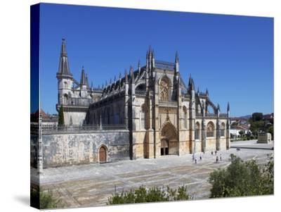 Santa Maria Da Vitoria Monastery, UNESCO World Heritage Site, Batalha, Portugal, Europe-Jeremy Lightfoot-Stretched Canvas Print