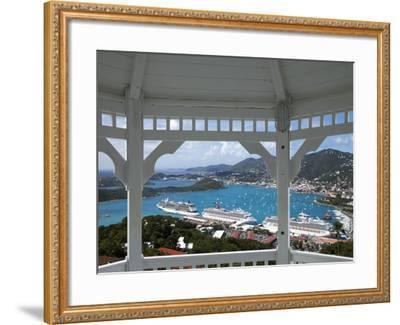 Charlotte Amalie, St. Thomas, U.S. Virgin Islands, West Indies, Caribbean, Central America-Angelo Cavalli-Framed Photographic Print