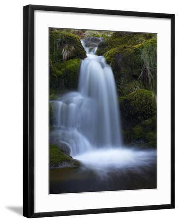 Waterfall, Glen Artney, Near Crieff, Perthshire, Scotland, United Kingdom, Europe-Jeremy Lightfoot-Framed Photographic Print