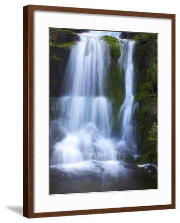 Waterfall, Glen Artney, Near Crieff, Perthshire, Scotland, United Kingdom, Europe-Jeremy Lightfoot-Framed Photographic Print