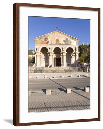 The Church of All Nations, Mount of Olives, Jerusalem, Israel, Middle East-Gavin Hellier-Framed Photographic Print