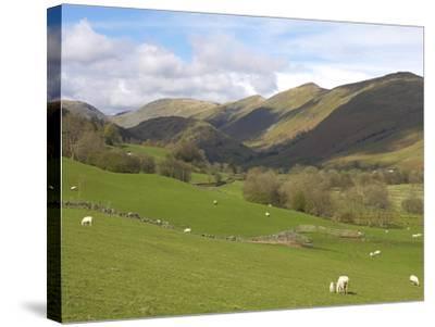Kirkstone Pass, Lake District National Park, Cumbria, England, United Kingdom, Europe-Jeremy Lightfoot-Stretched Canvas Print