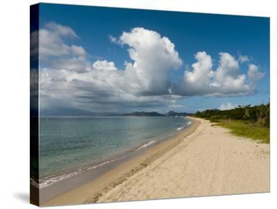 Pinney's Beach, Nevis, St. Kitts and Nevis, West Indies, Caribbean, Central America-Sergio Pitamitz-Stretched Canvas Print