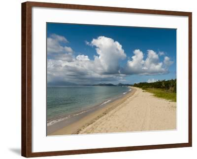 Pinney's Beach, Nevis, St. Kitts and Nevis, West Indies, Caribbean, Central America-Sergio Pitamitz-Framed Photographic Print