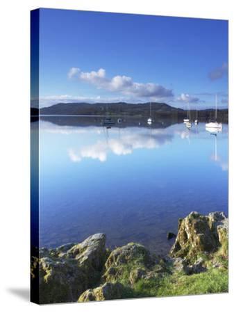Sunrise, Ambleside, Lake Windermere, Lake District National Park, Cumbria, England, UK, Europe-Jeremy Lightfoot-Stretched Canvas Print