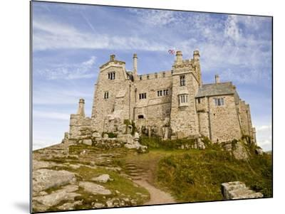 St Michael's Mount Castle Viewed Close Up, Cornwall, England, UK, Europe-Ian Egner-Mounted Photographic Print
