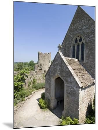 The Chapel of the 14th Century Farleigh Hungerford Castle, Somerset, England, UK, Europe-Ethel Davies-Mounted Photographic Print
