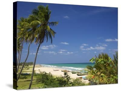 Nilaveli Beach and the Indian Ocean, Trincomalee, Sri Lanka, Asia-Peter Barritt-Stretched Canvas Print