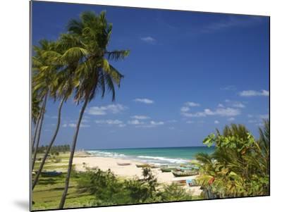 Nilaveli Beach and the Indian Ocean, Trincomalee, Sri Lanka, Asia-Peter Barritt-Mounted Photographic Print