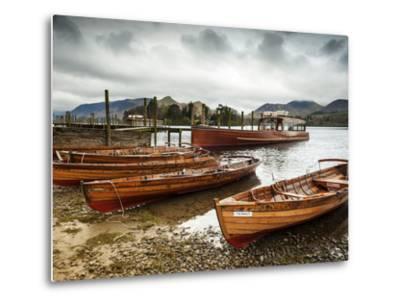 Keswick Launch Boats, Derwent Water, Lake District National Park, Cumbria, England-Chris Hepburn-Metal Print