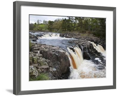 Low Force in Upper Teesdale, County Durham, England-Mark Sunderland-Framed Photographic Print