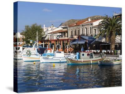 Harbour View, Pythagorion, Samos, Aegean Islands, Greece-Stuart Black-Stretched Canvas Print