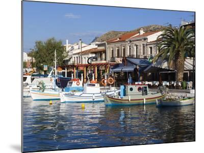 Harbour View, Pythagorion, Samos, Aegean Islands, Greece-Stuart Black-Mounted Photographic Print