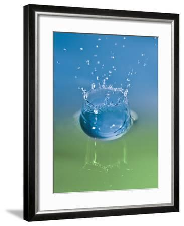 Falling Drops of Water-Antonio Busiello-Framed Photographic Print