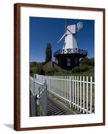 Rye Windmill, Rye, East Sussex, England, United Kingdom, Europe-Ethel Davies-Framed Photographic Print