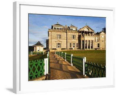 Royal and Ancient Golf Club, St. Andrews, Fife, Scotland, United Kingdom, Europe-Mark Sunderland-Framed Photographic Print