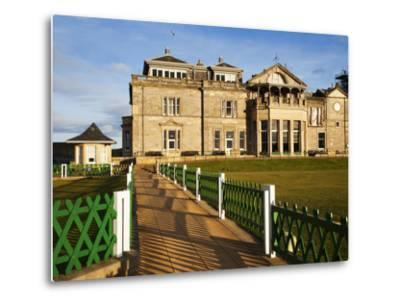 Royal and Ancient Golf Club, St. Andrews, Fife, Scotland, United Kingdom, Europe-Mark Sunderland-Metal Print