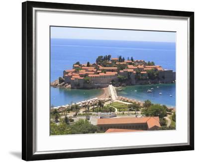 Sveti Stefan, Montenegro, Europe-Rolf Richardson-Framed Photographic Print